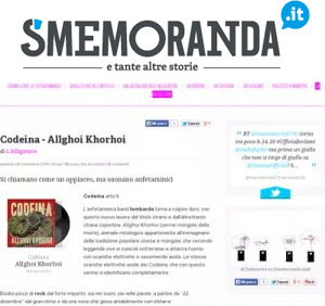 Codeina_Smemoranda